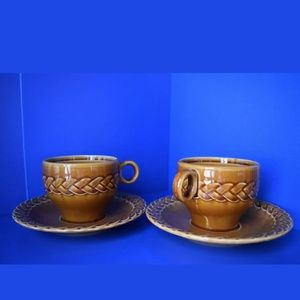 Vintage Pagnossin Cups & Saucers Made in Italy!